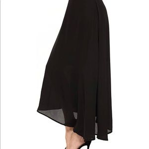 Skirts - Womens Chiffon Maxi Long Skirt